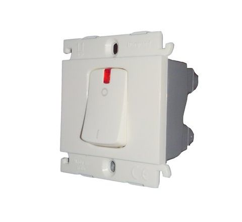 Legrand Mylinc 32 A  DP 1 Way Switch with Indicator 2M 6755 26