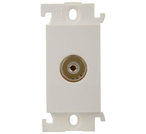 Legrand Mylinc TV Socket Co-Axial 1M 6755 46