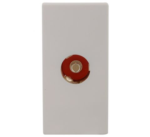 Legrand Myrius TV Socket Co-Axial 1M 6730 50