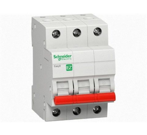 Schneider Easy9 Three Pole Isolator