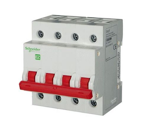 Schneider Easy9 Four Pole Isolator