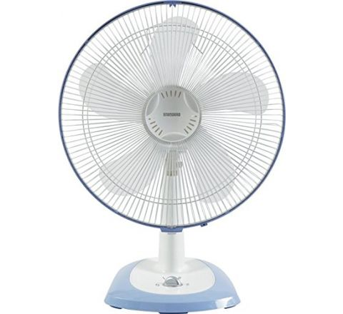 Standard Super 5 Leaf ST01 400 mm Table Fan Blue
