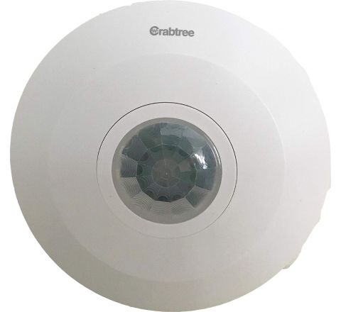 Crabtree 360 Degree PIR Motion Sensor (Surface Mounting)