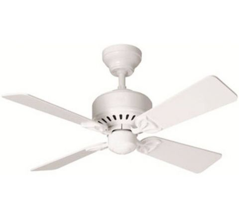 Usha Hunter Bayport 1067 mm Ceiling Fan White With White Oak Blades