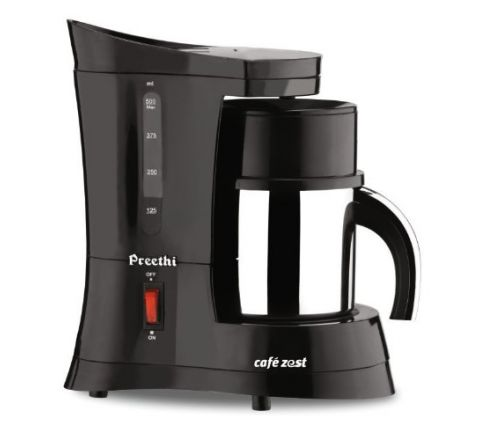 Preethi Cafe Zest CM210 Drip Coffee Maker (Black)